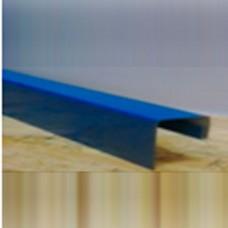 J-планка на забор, mat PE 0,45